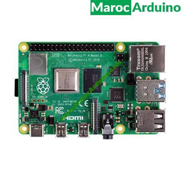 Raspberry Pi 4 Modèle B 1GB - 2GB - 4GB - 8GB