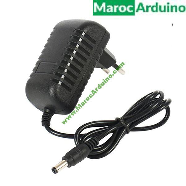 Alimentation 12V 2A pour Arduino